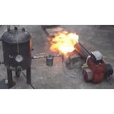 Quemador Automatico A Gas-oil 500.000 Kcal Calderas Hornos