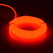 Fita Fio Linha Led Neon Luz Ambiente Moldável Vermelho
