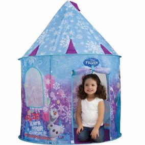 Barraca Castelo Toca Portátil Frozen Elsa E Anna Infantil