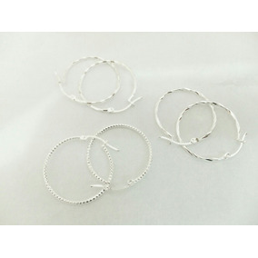 Elegante Arracadas Diamantadas De Plata Ley 925 Envío Gratis