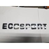 Insignia Capot Ford Ecosport Cromada Autoadhesiva