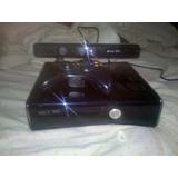 Xbox Slim Negro 250gb+2 Controles+5 Juegos