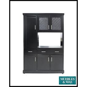 Mueble de madera para microondas bonito dise o economico for Mesa para microondas