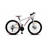 Bicicleta 27.5 Mtb Phoenix Disc Blanca/roja