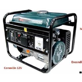 Planta De Luz Generador Electronico A Gasolina 1500w Max 3hp