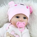 Bebe Reborn Realista Silicona Niña Baby Doll 22
