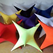 Kit 6 Estrela De Tecido (0,70 Cm²)