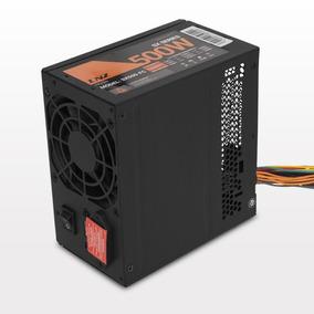 Fuente Pc Atx Lnz 500w Sx500-fc Cooler Negra 28a- 2da Sentey