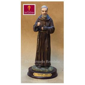 Imagen San Pio De Pietralcina, De Resina 20 Cms De Altura