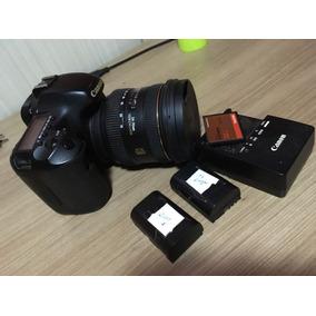 Canon 7d + Lente 24.70 Grátis + Duas Baterias + Cartão 32gb