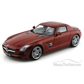 Motormax - 1:18 - Mercedes Benz Sls Amg Marron - El Errante