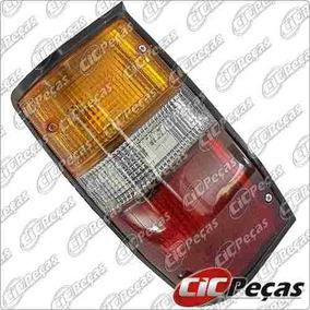 Lanterna Traseira Lado Esquerdo Preta L200 Gl/ Gls (.../07)