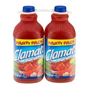 Clamato Party Pack 2 Pzas De 2.5 L