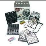 Espectacular Bingo Con Bolillero De Metal Niños Adultos
