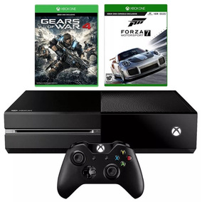 Console Xbox One 500gb + Gears Of War 4 + Lançamento Forza 7