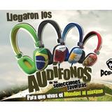Audifono Popclik Copa Del Mundo