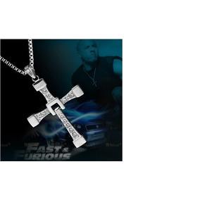 Dominic Toretto Velozes E Furiosos/vin Diesel Prata Banhado
