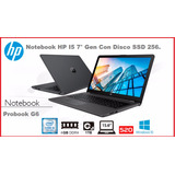 Hp Probook G6 Core I5 7200,4gb X 2 + 1tb 15,6