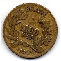 Moeda 1000 Reis 1925 Ref 129