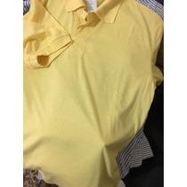 Camisa Polo Colombo Tamanho P Amarela Promoção