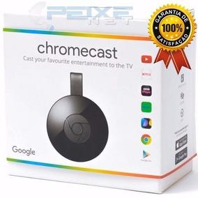 Chromecast 2 Original Google Lacrado 1080p 2018 Envio Hoje