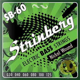 Encordoamento Baixo 6 Cordas Strinberg Sb60 - Loja Kadu Som