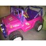 Carro Power Wheels - Jeep Para Niña De Barbie