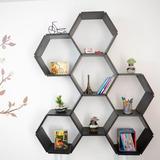 Repisas Módulos Hexagonales Para Pared