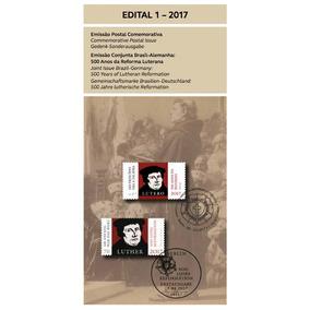 Edital 01 - 2017 Selo Reforma Luterana Lutero Religiao