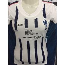 Playera Jersey Blusa Monterrey Rayados Mujer 2017 Sexy Dhl