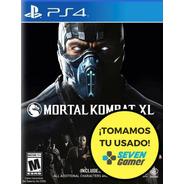 Mortal Kombat Xl Ps4 Juego Fisico Sellado Nuevo Sevengamer
