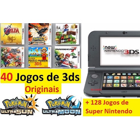 New Nintendo 3ds Xl + 150 Jogos + Pokemon + Mario + Zelda