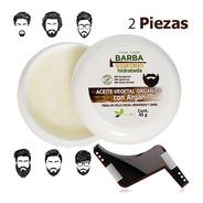 Aceite Vegetal Con Argán Para Una Barba Elegante Naturaldry