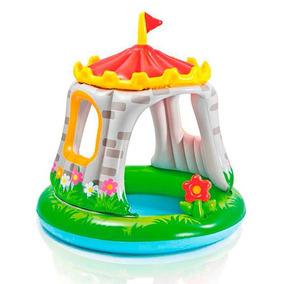 Pileta Inflable Infantil Intex Castillo Royal Hva