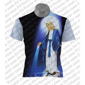 Camiseta Católica -nossa Senhora Das Graças