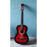 Guitarra Acustica Seminueva Bien Cuidada Con Las 6 Cuerdas