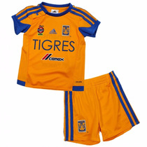 Uniforme Tigres Uanl Climalite Para Bebe Adidas S29554