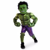 Disfraz Hulk Disney Store Talla7/8