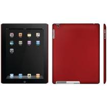 Capa Case Smart Vermelho Para Apple Ipad Modelos 2 / 3 E 4