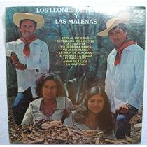 Los Leones De Huetamo Y Las Malenas. Disco L.p. Sellado Rca