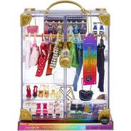 Rainbow High Deluxe Fashion Closet Playset Armário Roupas