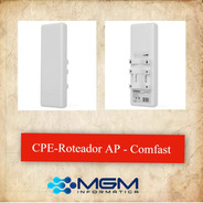 Comfast Cf-e214n 400mw 2.4ghz Lan Sem Fio 150mbps Cpe Ao Ar