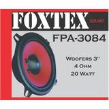 Woofers 3 Pulgadas - Marca Foxtex