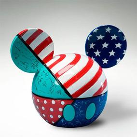 Disney Caixa Romero Britto Mickey Resina - Trevisan