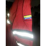 Bragas Nomex, Color Rojo Con Banda Azul Marino Al Mayor