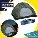 Carpa Camping 4 Personas Impermeable Con Factura Y Garantia