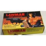 Revolver Juguete Magnum Lawman 357 Con Cebita Y Balines