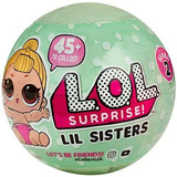 1 Ball Lil Sister Surprise Lol Outrageous Littles Series 2