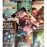 Harry Potter Saga 7 Libros + Envio Gratis Dhl
