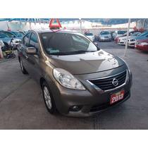 Nissan Versa Advance 2013 Std Equipad